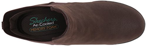 Chocolate Women's Ankle Bootie Skechers Nobel wRqd0nHI