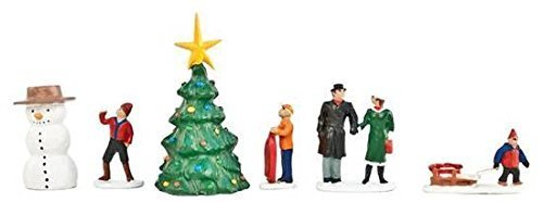LIONEL O GAUGE CHRISTMAS PEOPLE PACK