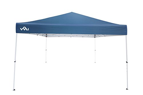 Yoli Journey 12'X12′ Sun Shelter Canopy with 144 sqft of Shade, Blue