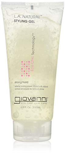 GIOVANNI Eco Chic L.A. Natural Styling Gel, 6.8 Oz - 3 Pack