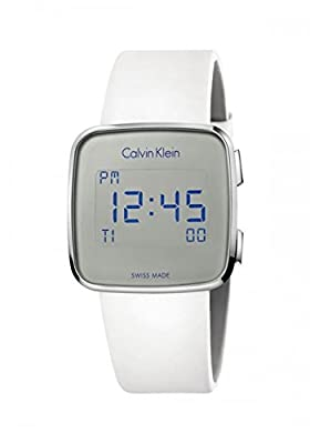 Calvin Klein Future White Quartz Digital Unisex Watch K5C21UM6