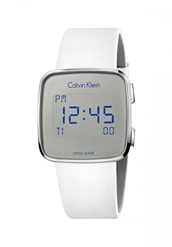 efdbb4806890 Calvin Klein Future White Quartz Digital Unisex Watch K5C21UM6