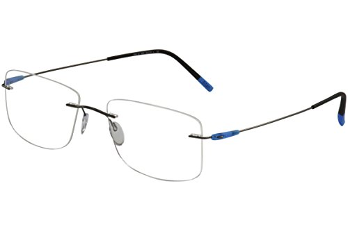 Eyeglasses Silhouette Dynamics Colorwave ( 5500 ) 9040 black 49/19/145 3 piece f