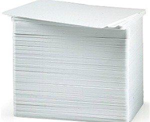 UPC 814711000408, Blank White PVC Cards (30 Mil CR80) for Magicard Printers - 100 pack