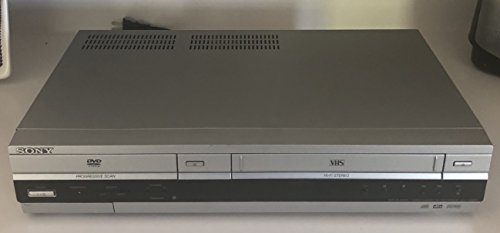 sony dvd player cassette recorder