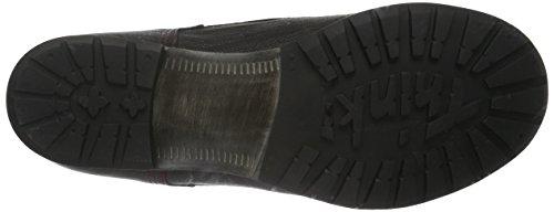 Think Denk, Zapatillas de Estar por Casa para Mujer Negro - Schwarz (SZ/Rosso 07)