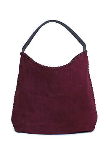 Marion Tory One Suede Size Hobo Port Bag Women's Burch PggTR