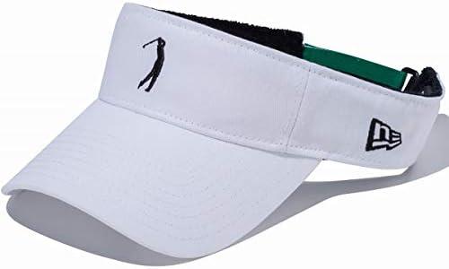 [해외]뉴에 라 골프 썬 바이 저 2 톤 스트랩 GOLF SN VISR 2TN STR 골퍼 로고화이트 * 네이 비 11901079 / New Era Golf Sun Visor 2 Tone Strap GOLF SN VISR 2TN STR Golfer LogoWhite x Navy 11901079