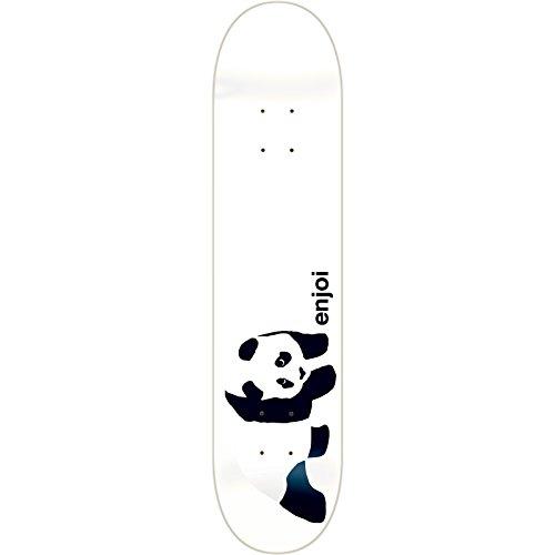 (Enjoi Skateboards Whitey Panda Skateboard Deck - 8