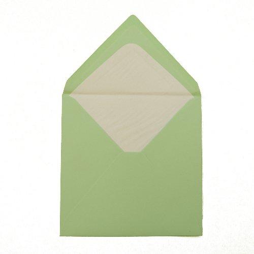 feuchtkl ebend//Grammatura 100/G//M/² /Menta verde 146/X 146/mm 14,6/x 14,6/cm/ /Triangolare Con Fodera Interna//chiusura 100/Buste quadrate/