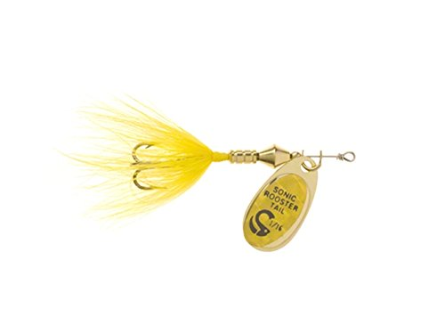 wordens-sonic-rooster-tail-lure-1-8-ounce-yellow-mylar