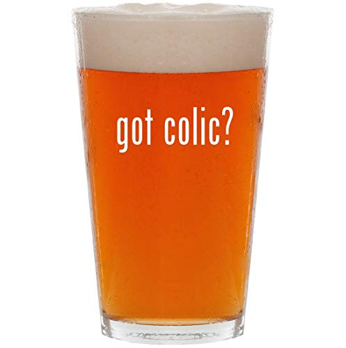 got colic? - 16oz All Purpose Pint Beer Glass (Cd Baby Colic Got)