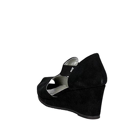 Nero Cinzia Soft Donna Sandalo 51538 xW18w8RqIH