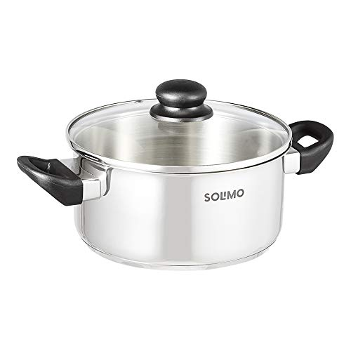 Amazon-Brand-Solimo-Premium-Stainless-Steel-20cm-Dutch-Oven-with-lid