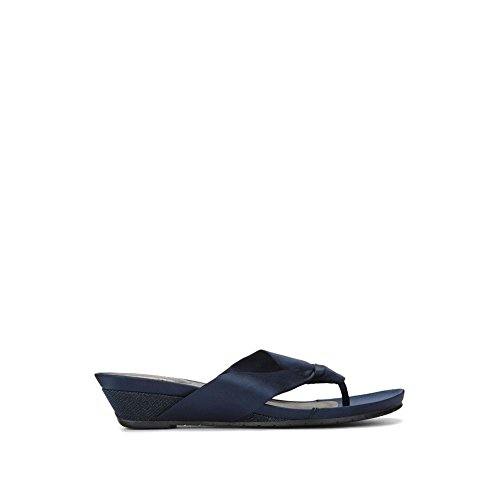 Reaction Kenneth Cole Gariana Satin Sandal - Women's - (Kenneth Cole Rubber Sole Sandals)