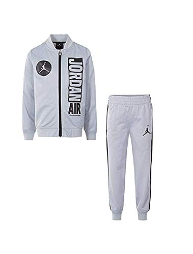 NIKE Air Jordan 2-Pc. Jacket & Jogger Pants Set,(Baby Boy's) Color Wolf Grey (6/9 Months)