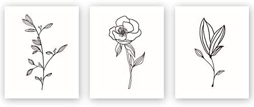 Unframed Abstract Flower Painting Housewarming product image