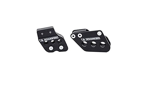 T.M RCG-002-BK Designworks Rear Chain Guide And Dual Powerlip Rollers