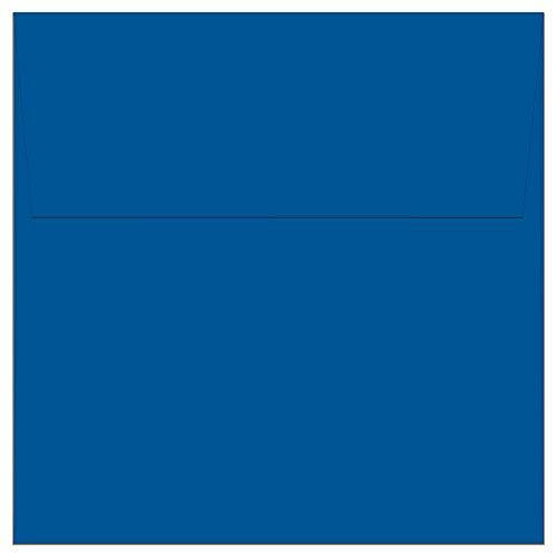 "100 Cobalt Blue Square Envelopes - 5.5"" x 5.5"" - Square Flap"