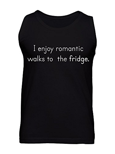 I Enjoy Romantic Walks To The Fridge Men's Tank Top