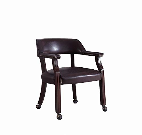 - Coaster Home Furnishings Upholstered Office Chair Brown