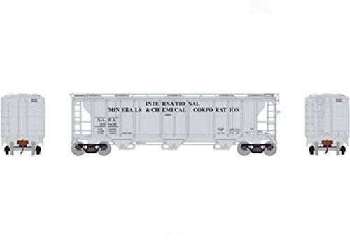 N PS-2 2893 3-Bay Covered Hopper, NAHX #35009