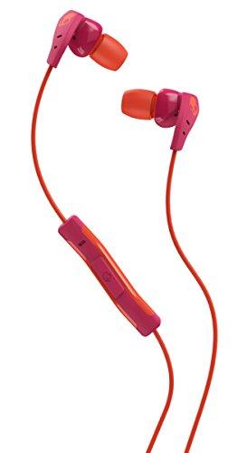 Skullcandy S2CDHY-519 Women's Method in-Ear Sport Earbuds with Mic, Pink