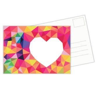Little Fox Adventures - Postal Corazón - tarjeta de ...