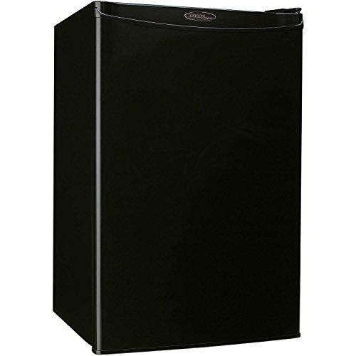Danby Designer DCR044A2BDD Compact Refrigerator, 4.4-Cubic Feet, Black by Danby