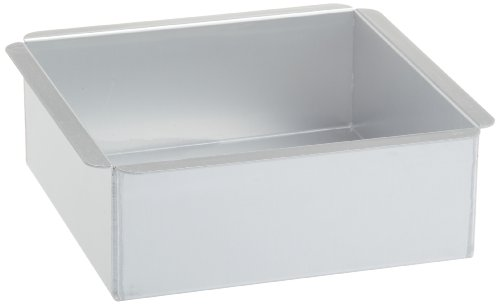 Ateco 8 by 8 by 3-Inch Professional Square Baking Pan (8 Cake Pan With Cutter compare prices)