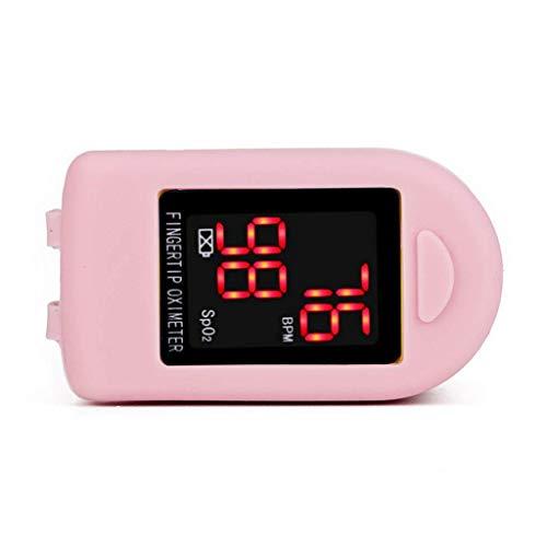 - Hootiny Led Oximeter Portable Blood Monitor Saturator Finger Oximeter Detection Blood Pressure Meter Equipment,Pink