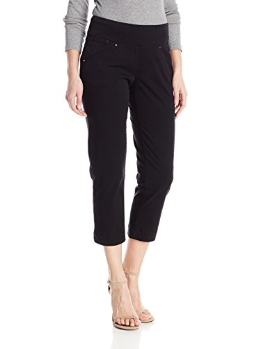 Jag Jeans Women's Marion Pull on Crop, Black, 12 for sale  Delivered anywhere in USA