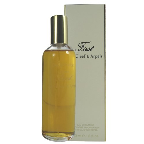 (First By Van Cleef & Arpels For Women. Eau De Parfum Spray 3.0 Refill.)