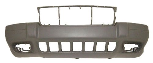 OE Replacement Jeep Cherokee/Wagoneer Front Bumper Cover (Partslink Number CH1000312) (Front Wagoneer Bumper)