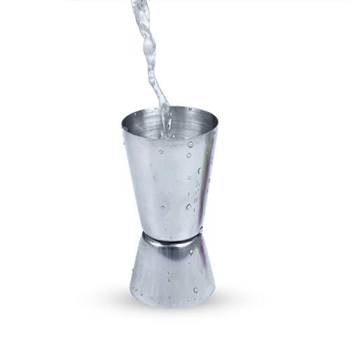 IKR Stainless Steel Measure Double-headed Ounce Cup Spirits Cocktail Drink Measure Cup