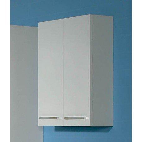 AVANTI TRENDSTORE - Blanco - Armadio a muro per il bagno, con 2 ante, in laminato di colore bianco, dimensioni: LAP 50x70x20 cm