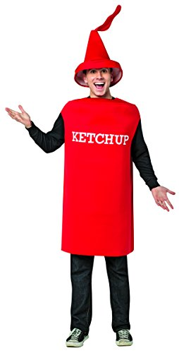 Rasta Imposta Men's Ketchup Squirt Tunic, Red, One Size