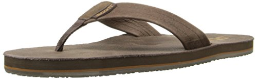 Scott Hawaii Mens Kakina Flip-flop Chocolade
