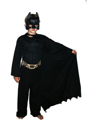 [Batman The Dark Knight Child Costume - Large] (Batman Dark Knight Suit For Sale)