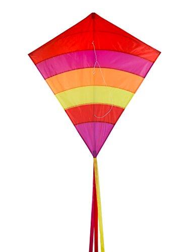 In the Breeze Arch Diamond Kite - Single Line Diamond Kite - Sunset, 39-Inch