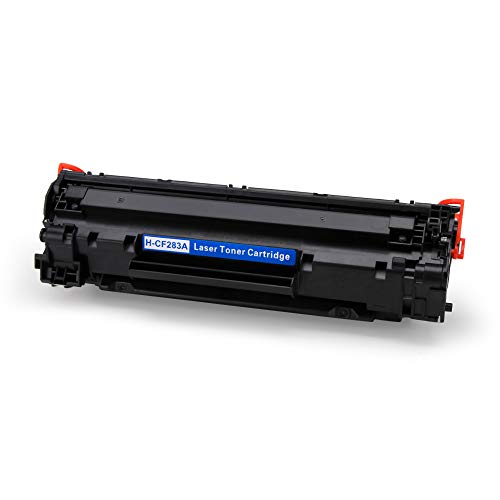 JIMIGO 1 Black 83A CF283A Compatible Toner Cartridges Replacement for HP 83A CF283A, Work with HP Laserjet Pro M201dw M201n, MFP M127fw M127fn M127fp M127fs M225dw M225dn M125nw M125rnw M125a Printer Photo #2