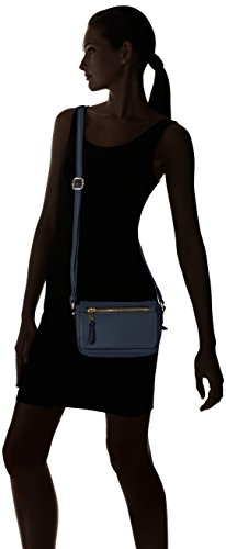 Gabor Cross Women's Bag Mona Blue Body 50 Blau rqrwaERAx