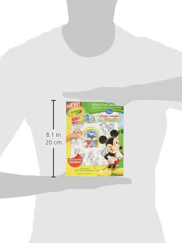 Crayola Color Wonder Stickers, Mickey Mouse Club House (75-5852) Photo #2