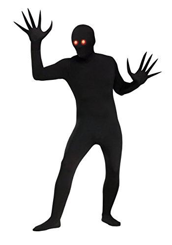 Fun World Men's Fading Eye Skin Suit, Black,
