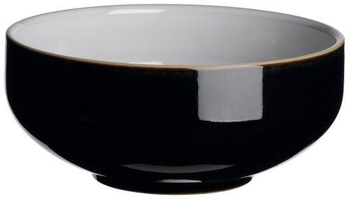Black Soup Cereal Bowl (Denby Jet Black Soup/Cereal Bowl)
