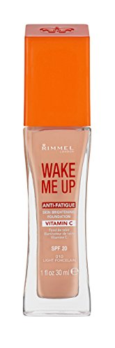 Rimmel Wake Me Up Foundation 010 Light Porcelain 30ml