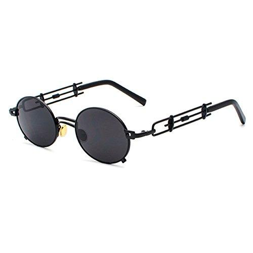 femmes pour protection lentille hommes gothique C1 Juleya de métal Steampunk cadre UV rond soleil Vintage en lunettes 0WF0wqYz8
