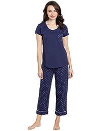 bfd814c11b5a Pajamas for Women Cotton - Womens Capri Pajama Sets