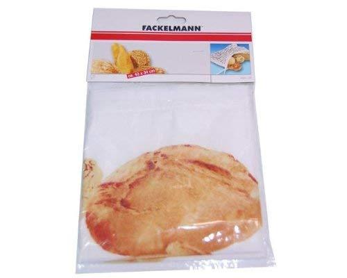 Fackelmann 43511 Sac /à pain en coton 43 x 34 cm