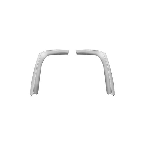 Fender Mustang Front Extension (MACs Auto Parts 44-45264 - Mustang Front Fender/Hood Extension Moldings)